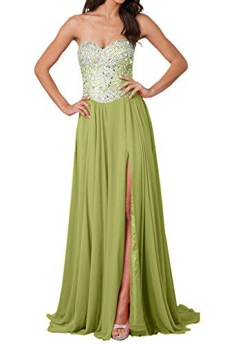 Ivydressing -  Vestito  - linea ad a - Donna Verde Oliva 44