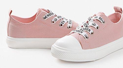 Zehe Logo Große VECJUNIA Mädchen Jungen Kinder Outdoor Slipper Pink Kleine Alphabet Runde Kinder nbsp;Gummiband Flach Komfort qTBHxwnT