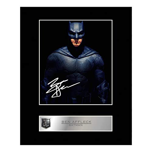 iconic pic Ben Affleck Signed Mounted Photo Display Batman Justice League #2 Autographed Gift Picture Print