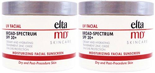 Elta-MD-Moisturizing-Facial-Sunscreen-UV-Facial-SPF-30-4-Oz-Jar-Pack-of-2