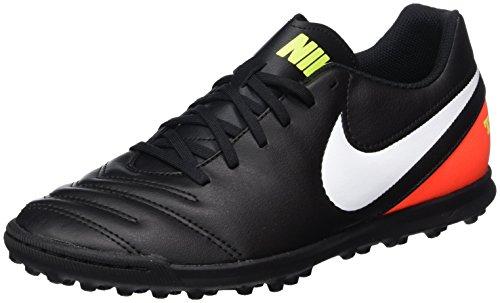 018 819237 hyper Black White Herren Fußballschuhe EU Schwarz Nike volt Orange q7BEwn5