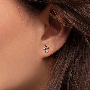 Thomas Sabo Unisex Sterling silver Cubic Zirconia Stud Earrings – H2113-643-11