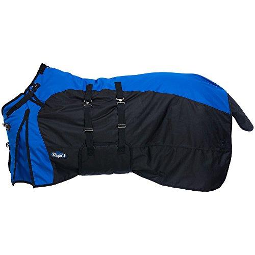 Tough-1 1200D Turnout Belly Wrap Horse Blanket Blue/Royal4 81