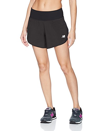 New Balance Impact Short 5 in, Black, Medium