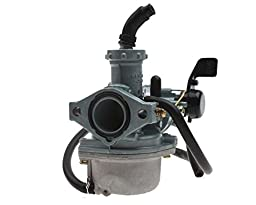 22mm KeiHin Carburetor of with Hand Choke for 125cc ATV,Dirt Bike & Go Kart