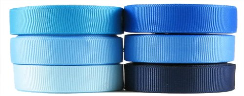 Blue Ribbon for Crafts - Hipgirl 30 Yards 3/8