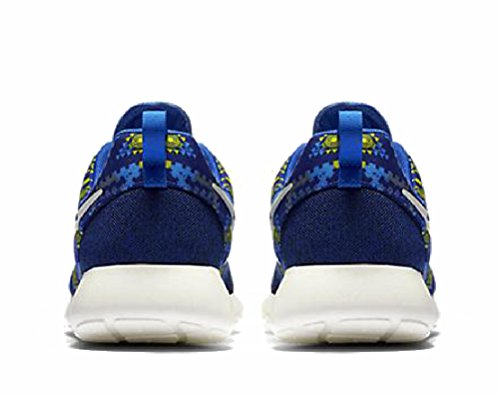Nike Roshe One Print, Scarpe Sportive, Uomo Giallo