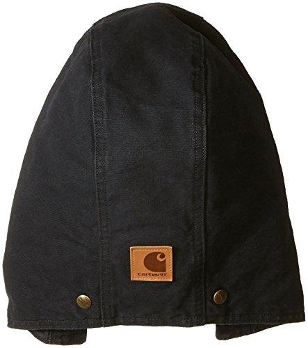 Carhartt 102366 Men's Quilt Lined Sandstone Hood (S-XL, Black)