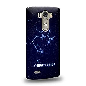 Case88 Premium DesignsThe 12 Zodiacal Constellations Sagittarius zodiacal signs Carcasa/Funda dura para el LG G3