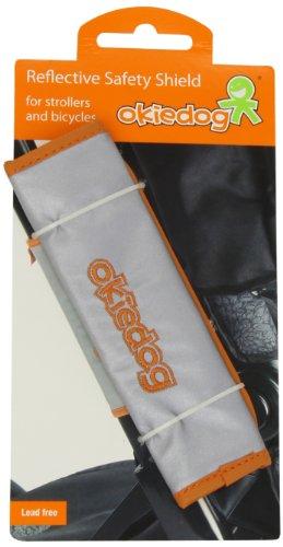 okiedog clipix - reflective safety shield,Silver ()
