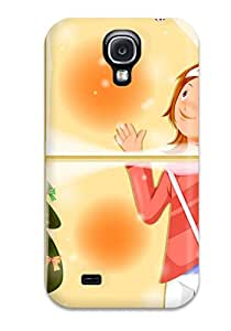 New Style 4783783K71622348 New Design Shatterproof Case For Galaxy S4 (wishing Well Christmas)