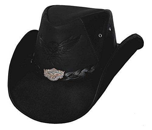 Bullhide King of The Road - Leather Cowboy Hat