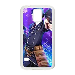 Blue Exorcist Samsung Galaxy S5 Cell Phone Case White present pp001_9825104