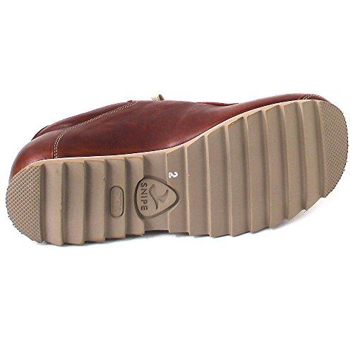 Snipe - Stringata classica Uomo Braun (Cuero)