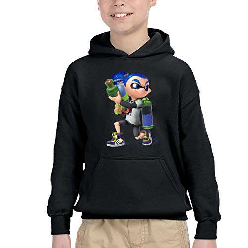 AIDEAR Splatoon Game Lnkling Boy Girl Long Sleeve Hoodie Hooded Sweatshirt 42 (Tony Poster Jaa)