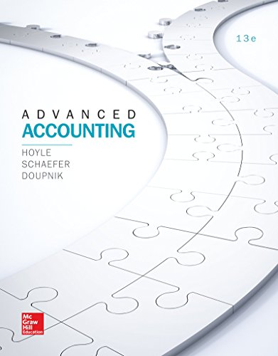 1259444953 - LooseLeaf for Advanced Accounting (Irwin Accounting) - Standalone book