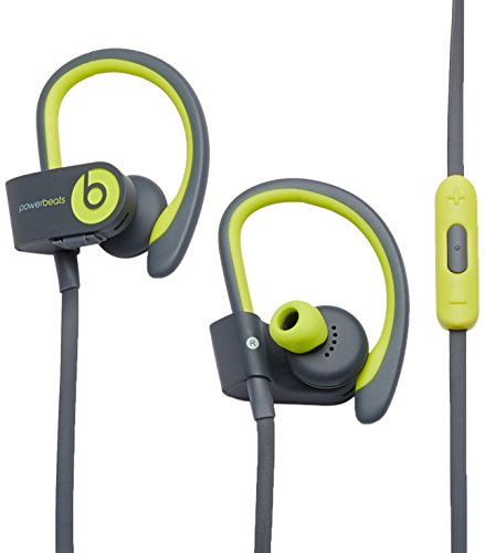 Beats by Dr. Dre Powerbeats 2 Active Wireless Headphones - Shock Yellow (Refurbished Powerbeats2 Wireless)
