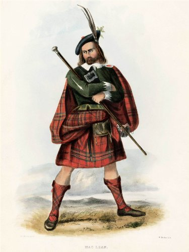 painting-portrait-highland-clan-scotland-tartan-maclean-art-poster-print-18x24-inch-lv2751