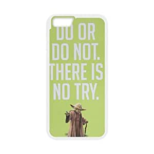 Personalized Durable Cases iPhone 6 Plus 5.5 Inch Cell Phone Case White Do or do not There is no try Howmm Protection Cover