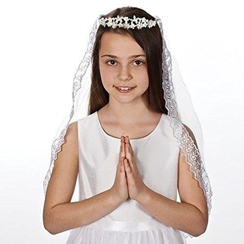 Kate Communion Veil Pearl Tiara