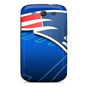 High Quality Hard Phone Covers For Samsung Galaxy S3 (Ooz17626CLoQ) Unique Design Fashion New England Patriots Series