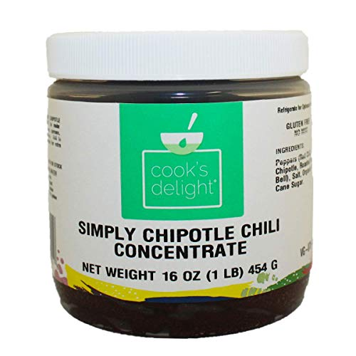 (Chipotle Chili Pepper Flavor Concentrate by Cook's Delight 1 Lb of soup base makes 5 1/2 gal of soup stock)