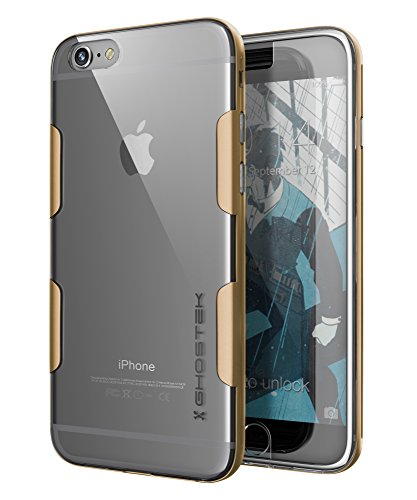 iPhone 6s Plus Case, Ghostek Cloak Series for Apple iPhone 6 Plus Slim Protective Armor Soft Cover Carrying Case | Tempered Glass Screen Protector | Warranty | Aluminum Bumper | - Glasses Dublin Frames