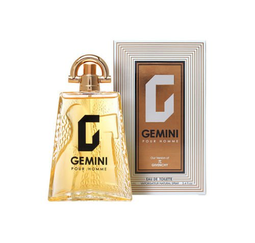 Mirage Brands GEMINI Perfume for Men, EDT Spray - 3.4 oz - By Long Lasting Fragrance to Rock Every Occasion - With a NovoGlow Suede Pouch (Brands 3.4 Ounce Edt)