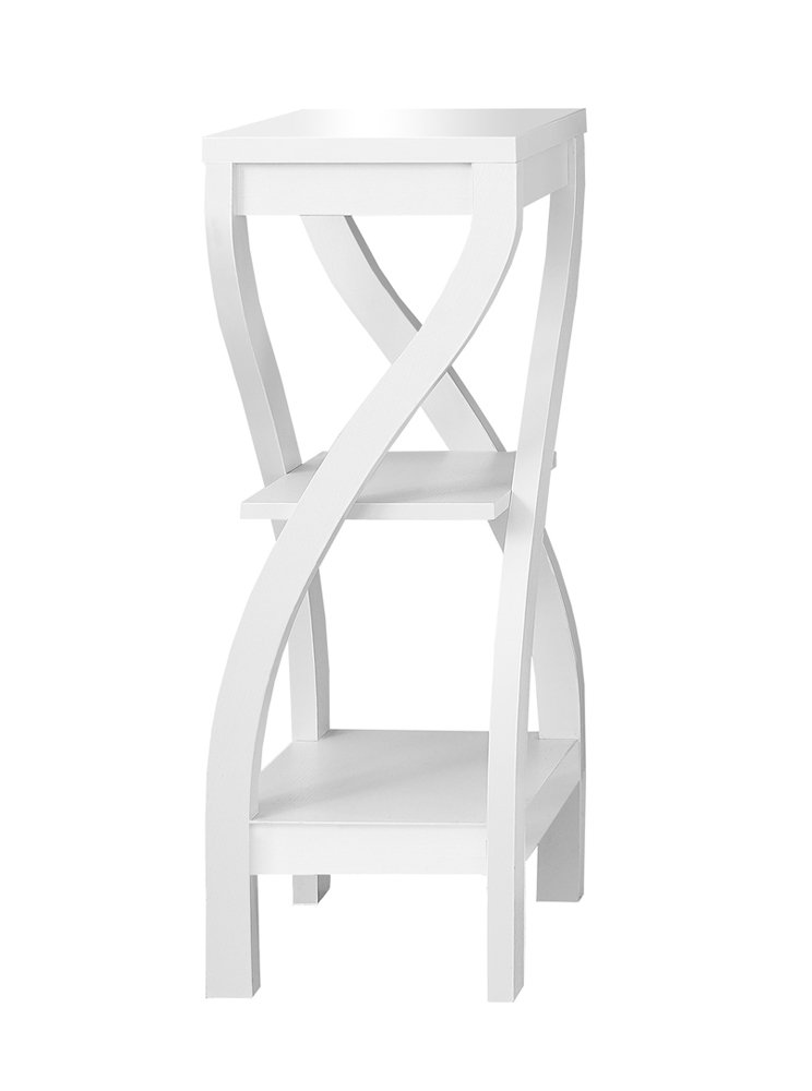Monarch Specialties I 2479 White Accent Table, 32 32