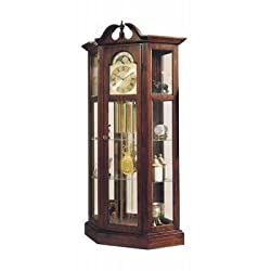 AMZ Ridgeway Clock Co. Richardson I Grandfather Clock Curio Combo - 9701