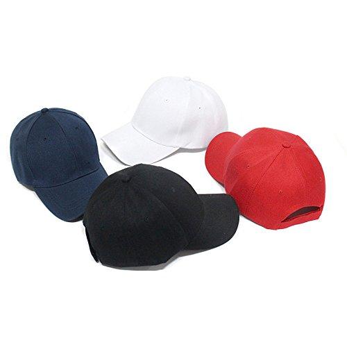 Westeng Unisex Berretto da Baseball Cappellino di Tela Moda Sportivo da Uomo e Donna Cappellino da Viaggio Adatto Regolabile