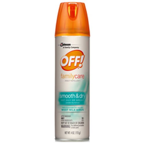 - OFF Familycare Smooth and Dry Insect Repellent, 4 Ounce