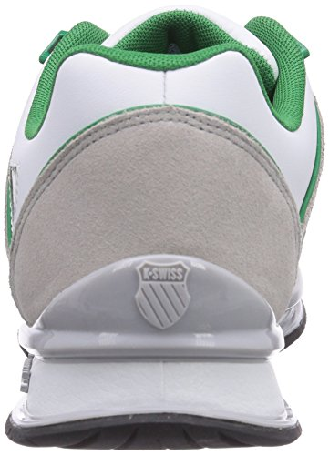 Swiss Gray White SP 827 Green White Men's Gull K Trainers Jolly Rinzler Rpwd1wgq