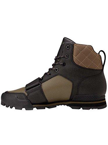Creative Recreation Mens Scotto Black Military Boot - 10.5