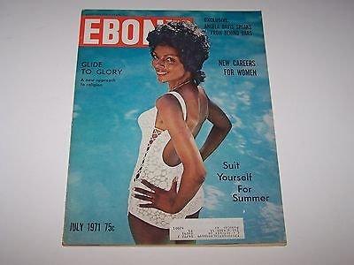 Ebony Magazine back issue July 1971