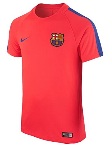 Nike FC Barcelona Youth Pre-Match Jersey-BRIGHT CRIMSON (XL)