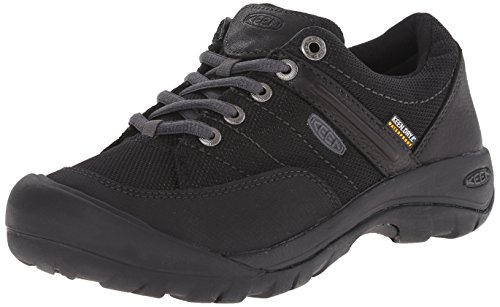 KEEN Women's Presidio Sport Mesh Waterproof Shoe, Black, 9.5 M US by KEEN
