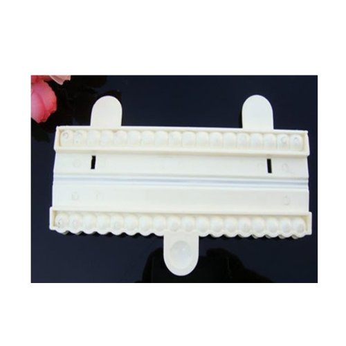 Free Sugar Layer Cake Chocolate - Bead Cutter No.1 (9mm) Pearl Sugarcraft Fondant Cake Decorating Mould.