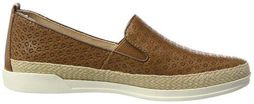 Capriccio 24201 Damen Pantofola Braun (cammello Nappa)