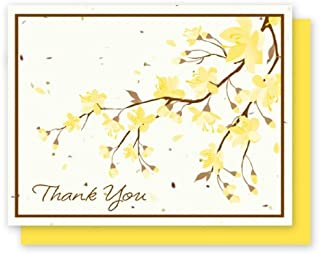 product image for Grow A Note® Thank You Yellow Flower 5-Pack