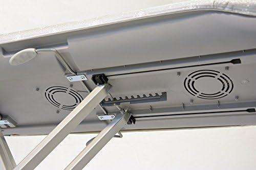 Table /à repasser professionnelle Active aspirante et chauff/é avec jambes en aluminium/ /Eco Vapor Pirola