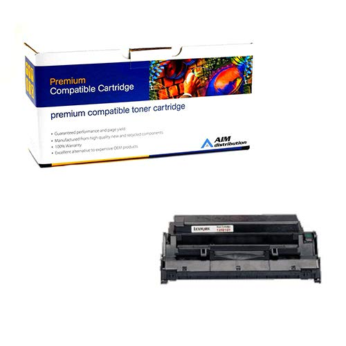(AIM Compatible Replacement for Olivetti 911844 Toner Cartridge (6000 Page Yield) - Compatible to Lexmark 13T0101 - Generic)