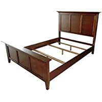 Westlake Platform Bed - Cherry Brown,King