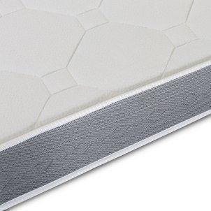 El Almacen del Colchon - Colchón espumación, Modelo Star, 80 x 180 x 15cm - Todas Las Medidas, Blanco y Gris: Amazon.es: Hogar