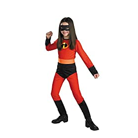 - 41oi89hrrdL - Disguise Disney The Incredibles Violet Classic Girls Costume