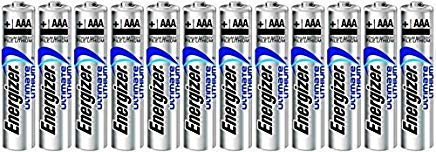 Energizer Ultimate Lithium AAA L92 Size Batteries - 12 Pack -