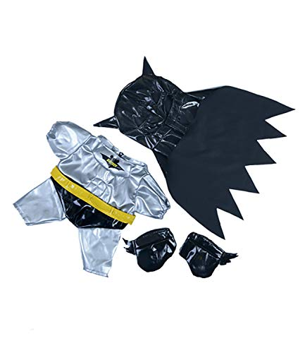 Bat Boy Outfit with Mask, Cape and Boots Fits Most 14