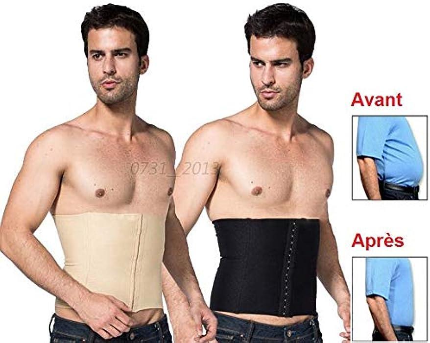 356d57ffbc2 SIMPLISIM  Gaine Homme Amincissante Slim Gros Ventre Plat Minceur Fitness  Ceinture Discrete