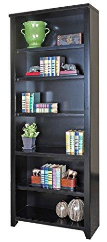 Martin Furniture Tribeca Loft Black Bookcase, 84