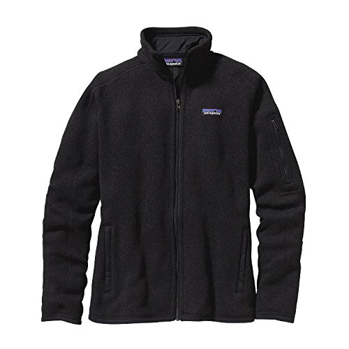 Patagonia Better Sweater Jacket Womens Style: 25542-BLK-Size: L